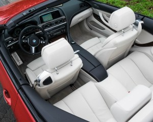 2016 BMW 640i Convertible Interior Preview