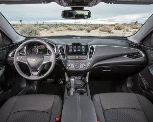 2016 Chevrolet Malibu LT Interior