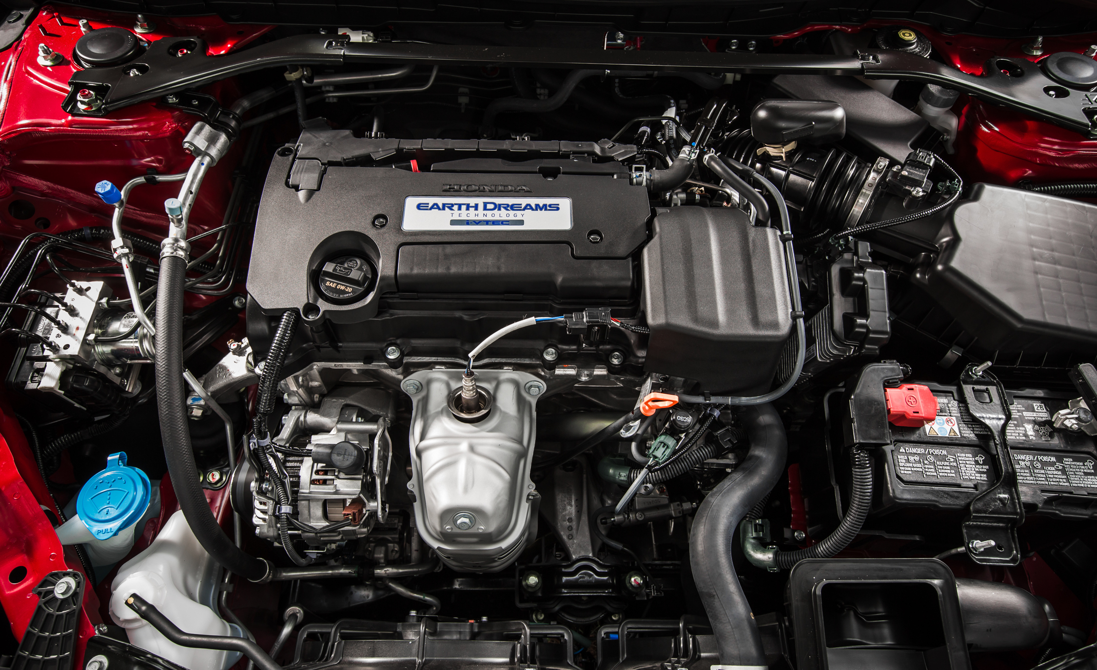 2016 Honda Accord Sport 2.4-Liter Inline-4 Engine
