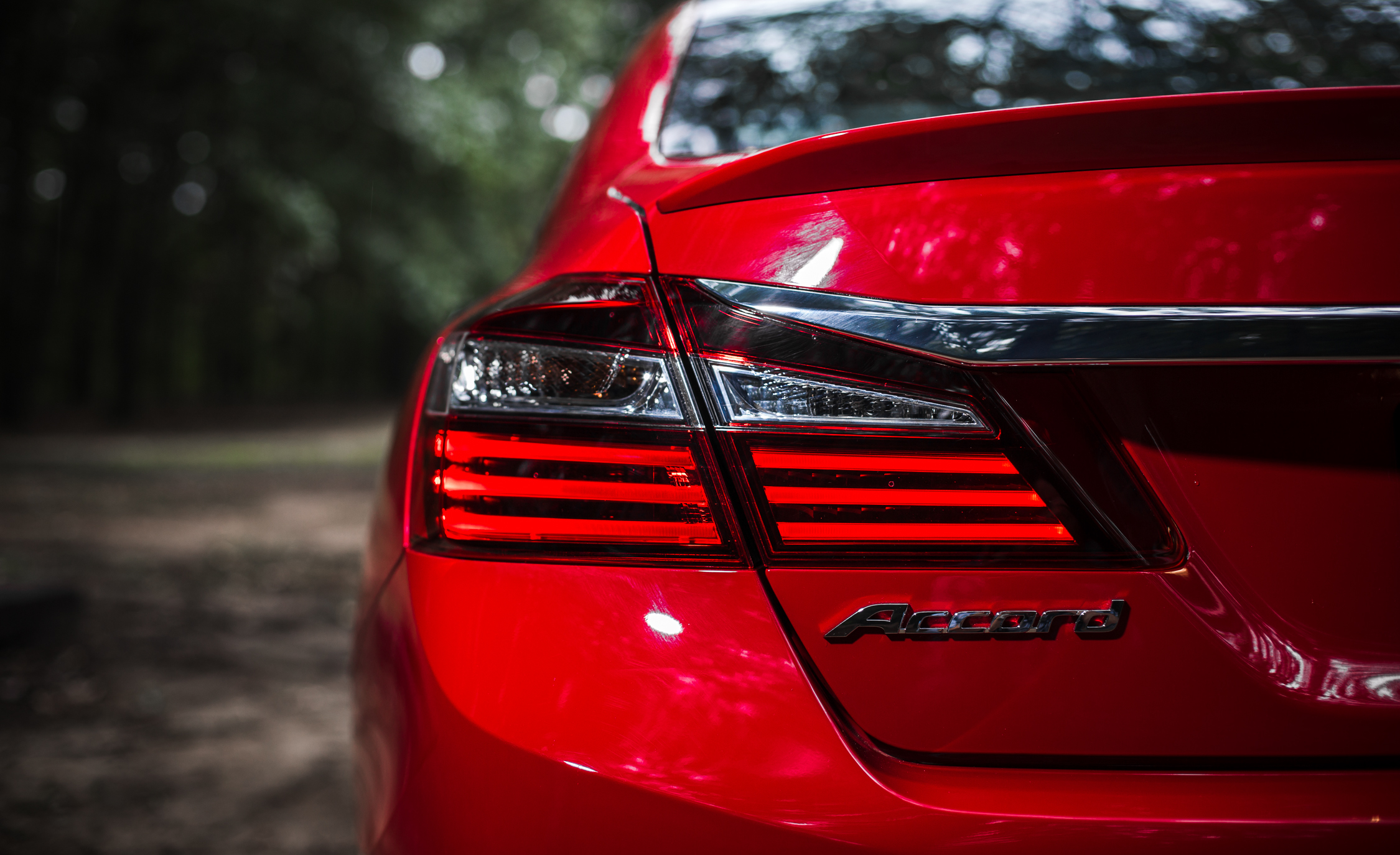 2016 Honda Accord Sport Exterior Taillight Left