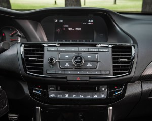 2016 Honda Accord Sport Interior Headunit