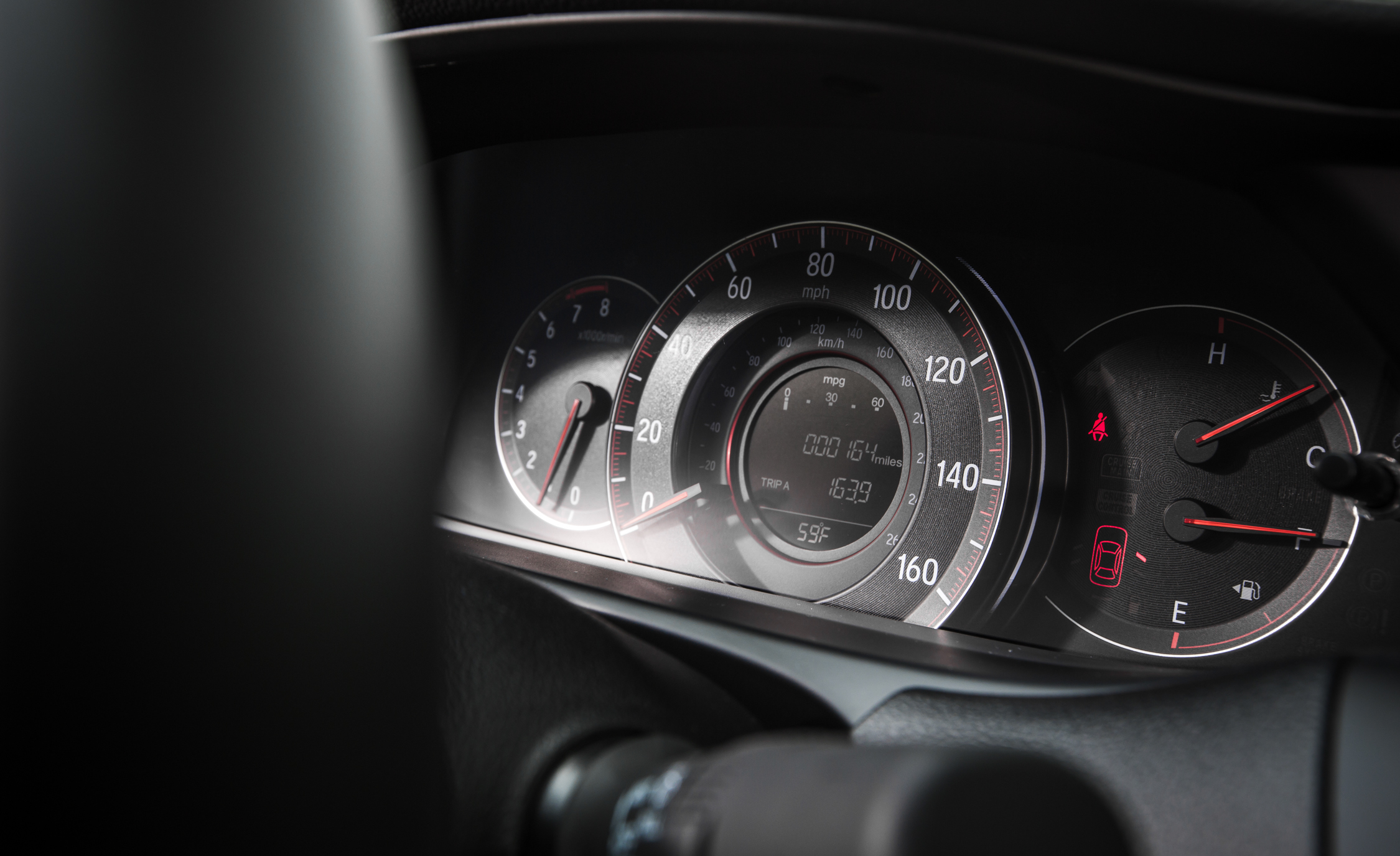 2016 Honda Accord Sport Interior Speedometer
