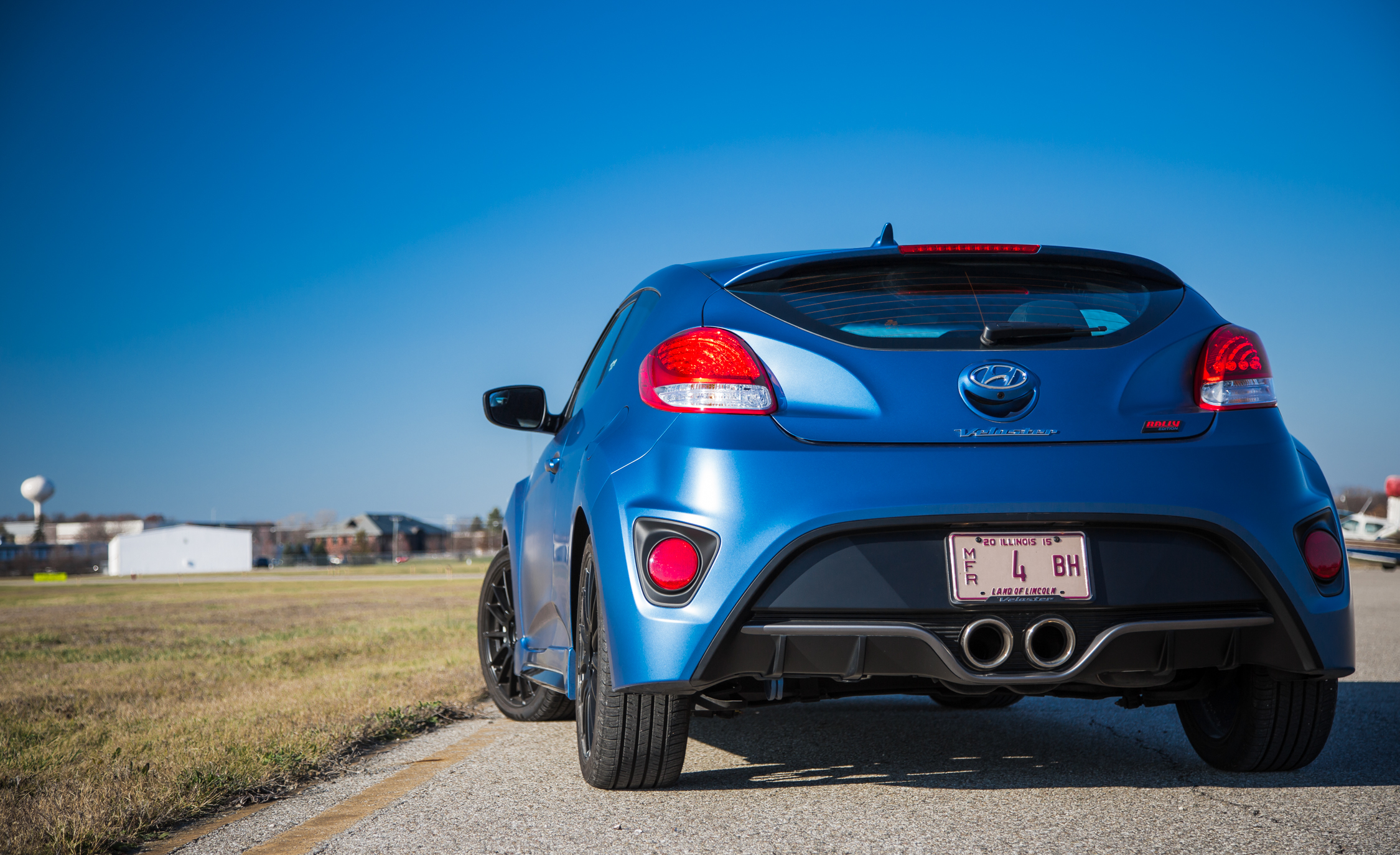 2016 Hyundai Veloster Turbo Rally Edition Exterior Full Rear