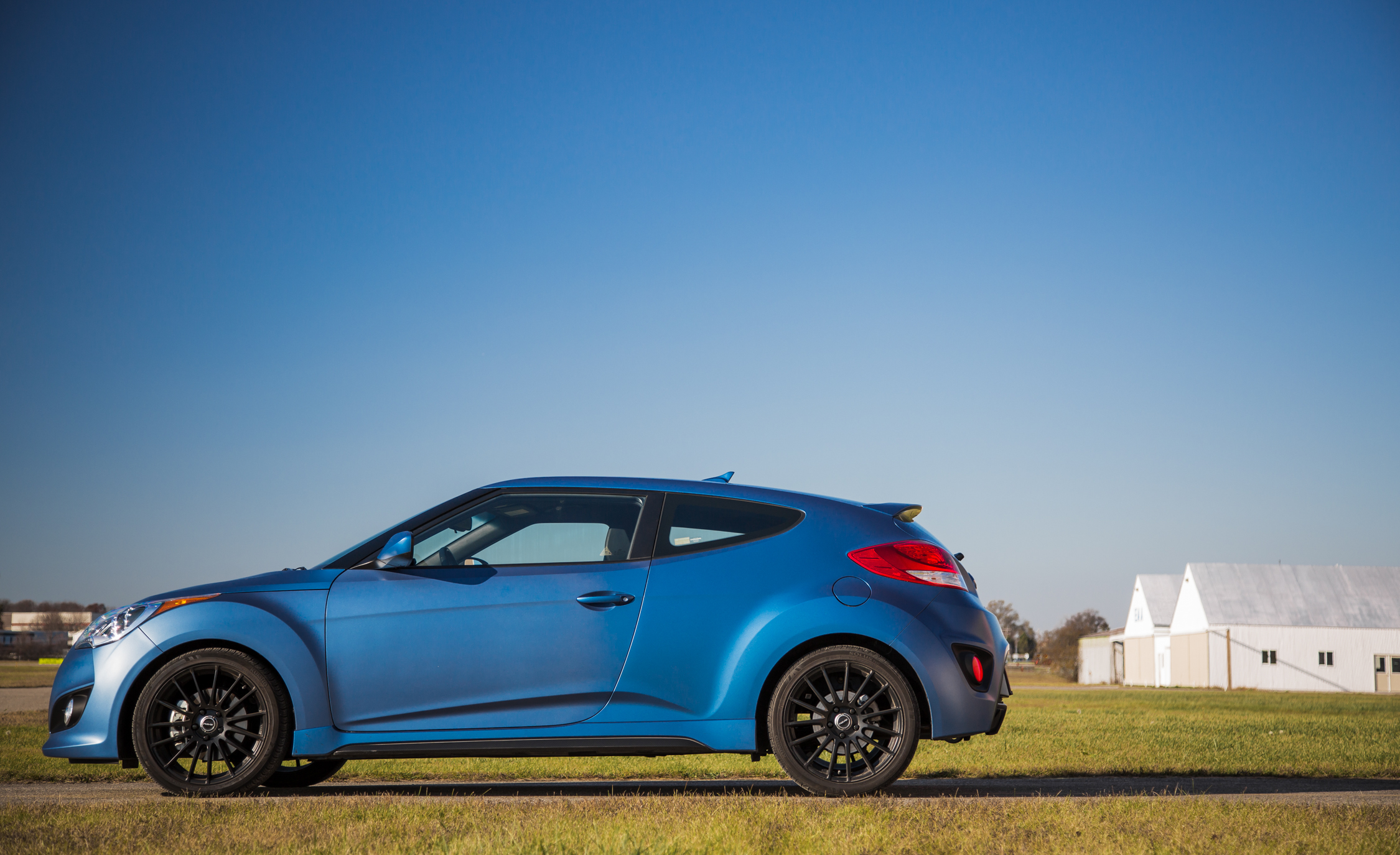 2016 Hyundai Veloster Turbo Rally Edition Exterior Full Side