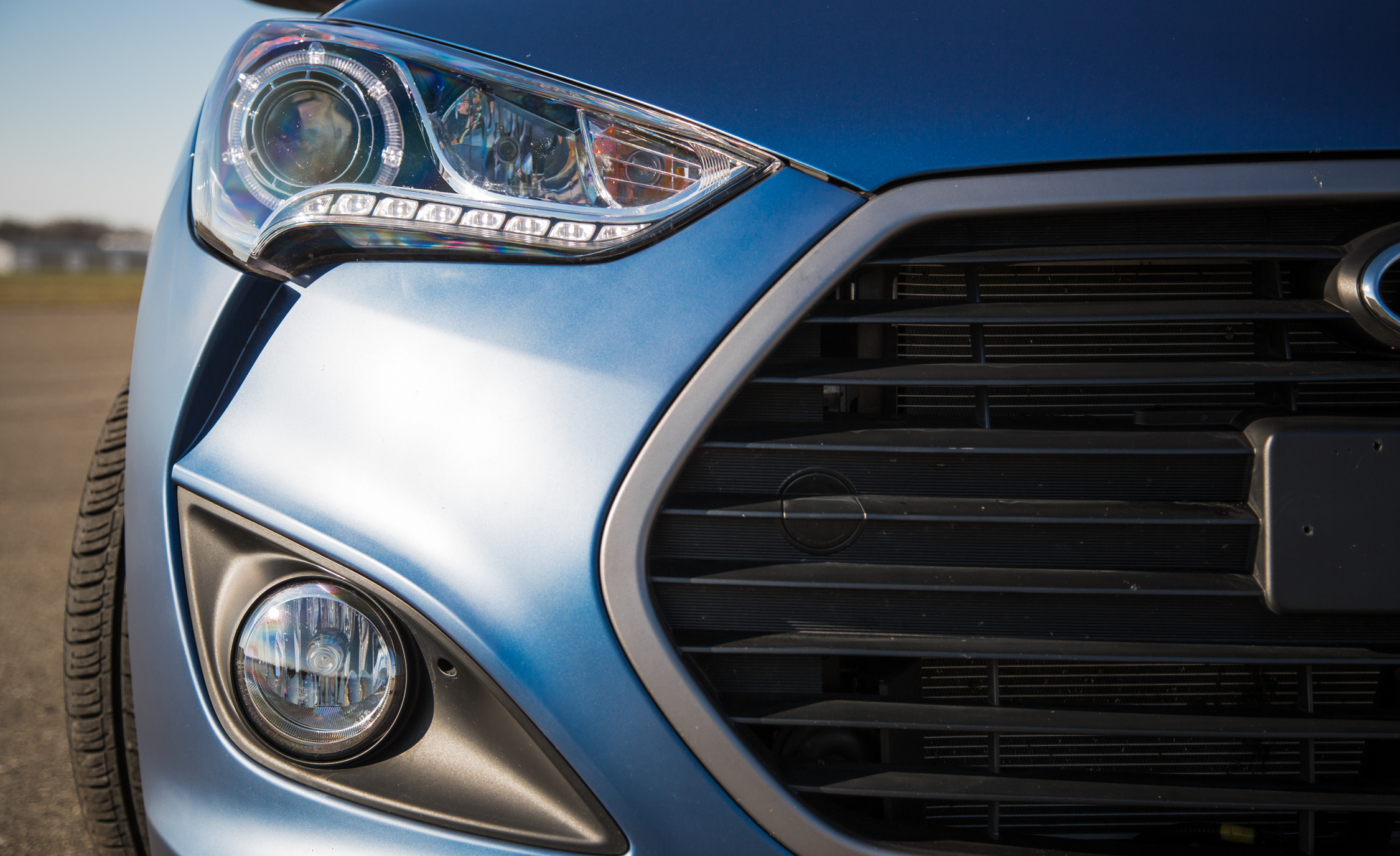 2016 Hyundai Veloster Turbo Rally Edition Exterior Headlight Left