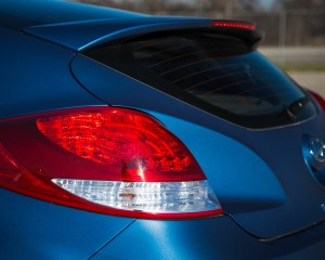 2016 Hyundai Veloster Turbo Rally Edition Exterior Taillight Rear Left