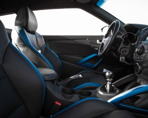 2016 Hyundai Veloster Turbo Rally Edition Interior Cockpit Seat