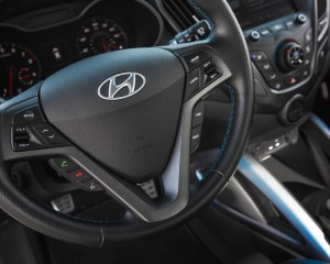 2016 Hyundai Veloster Turbo Rally Edition Interior Steering