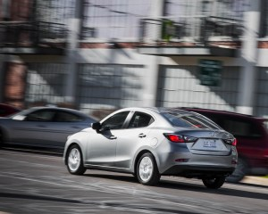2016 Scion iA Test Rear and Side View