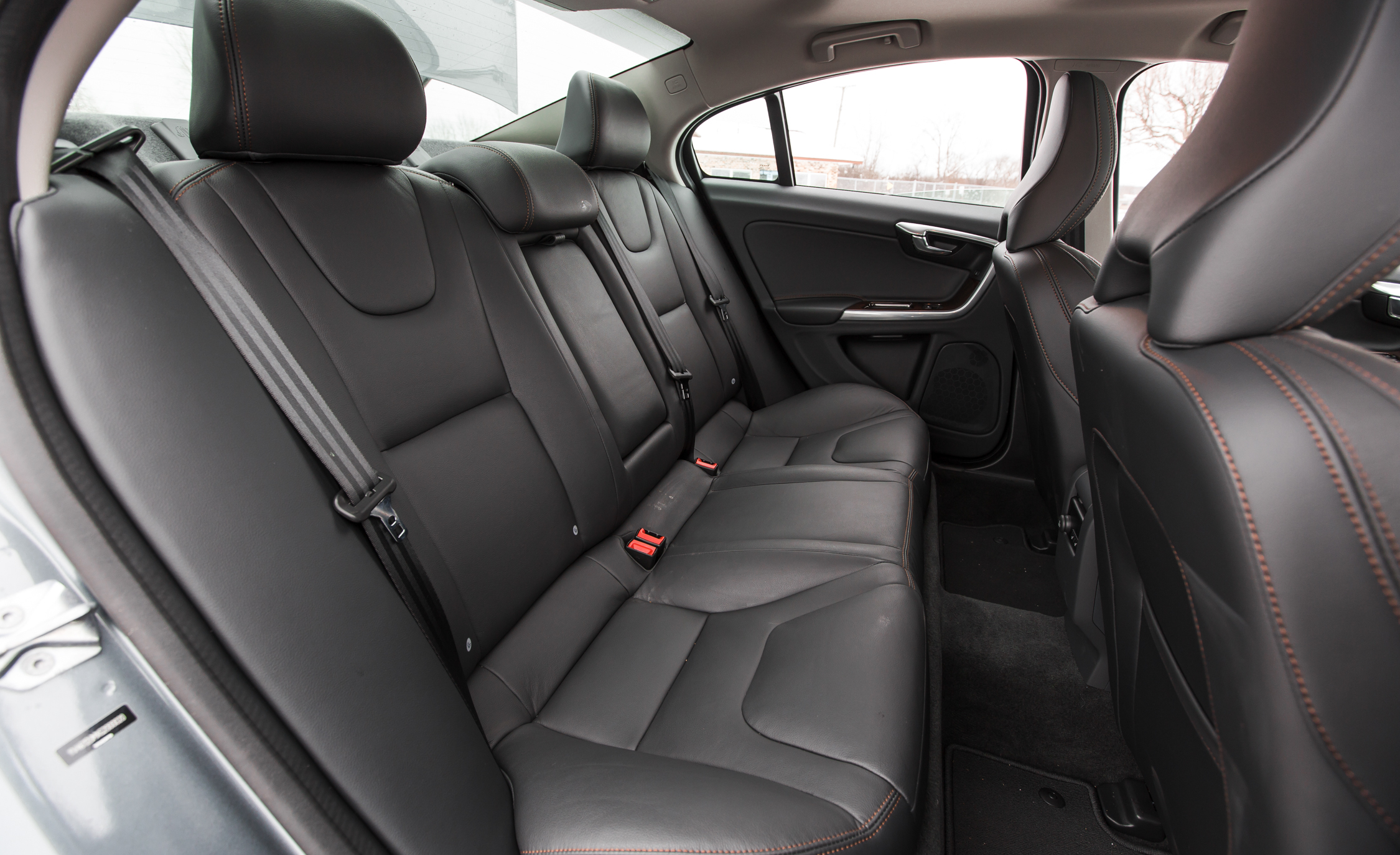 2016 Volvo S60 Cross Country Interior Rear Passenger Seats