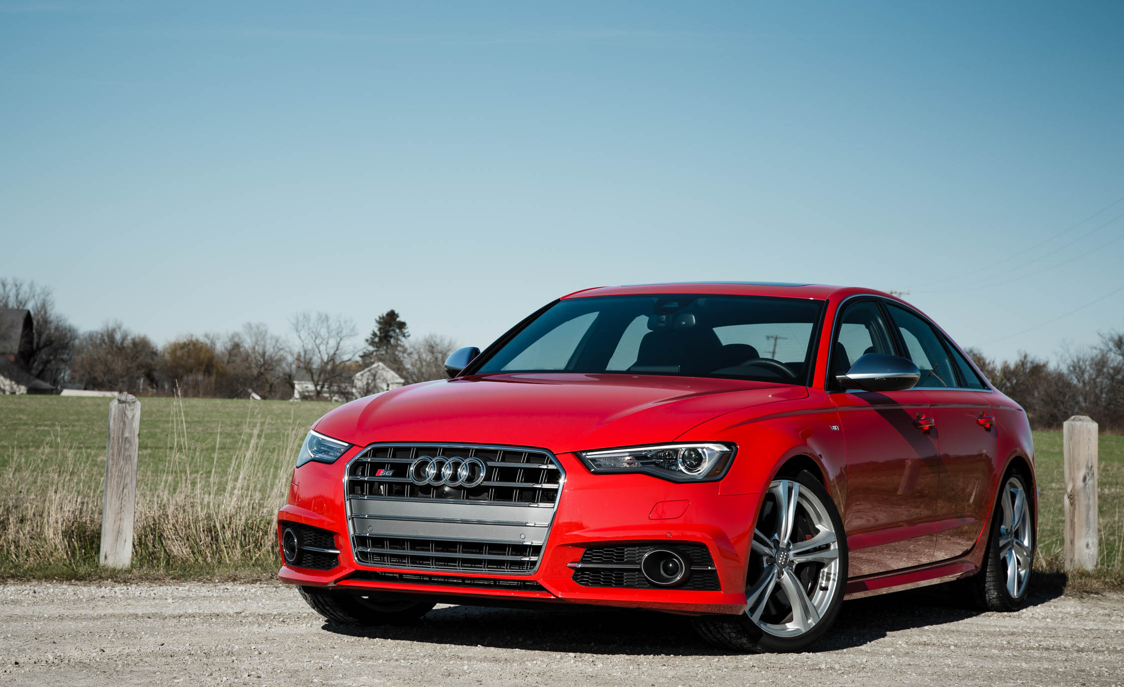 2016 Audi S6 Exterior Full Front and Side