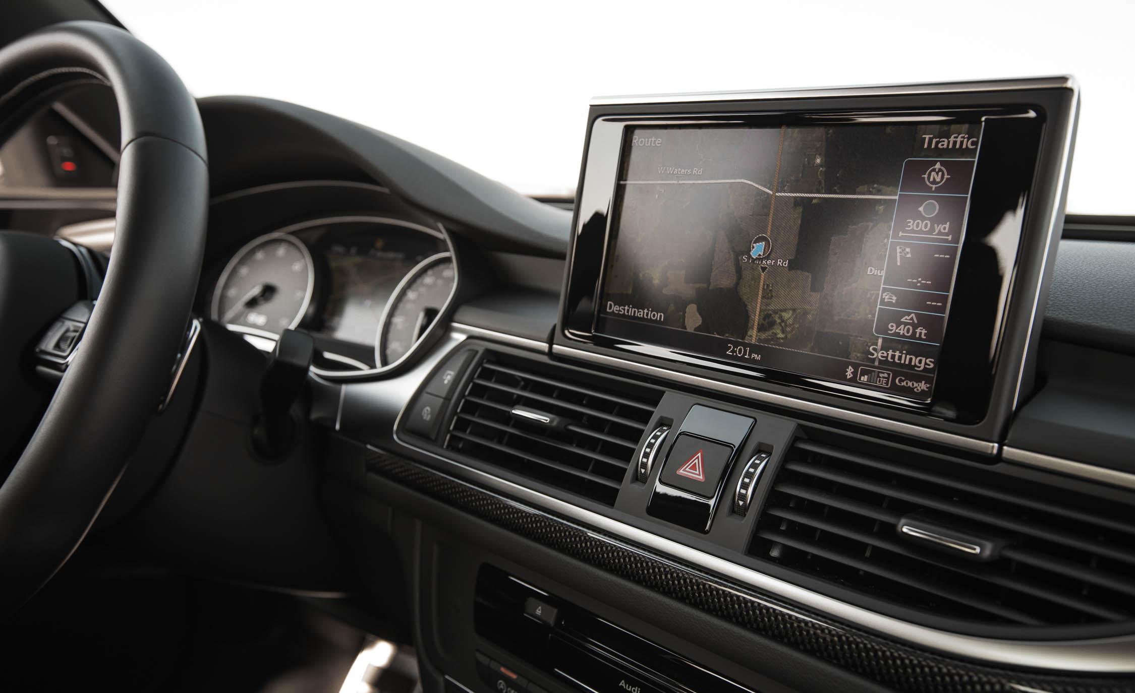 2016 Audi S6 Interior Head Unit Screen