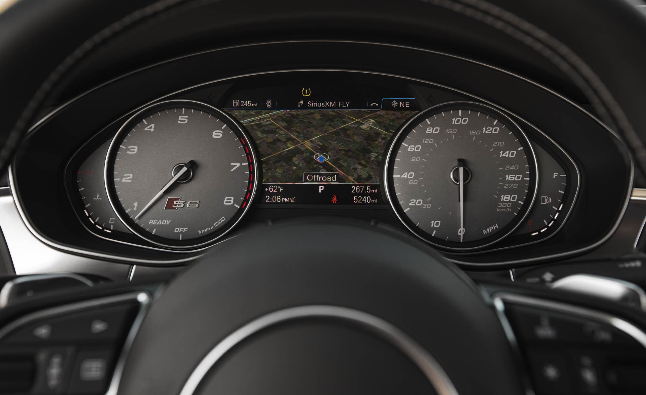 2016 Audi S6 Interior Speedometer