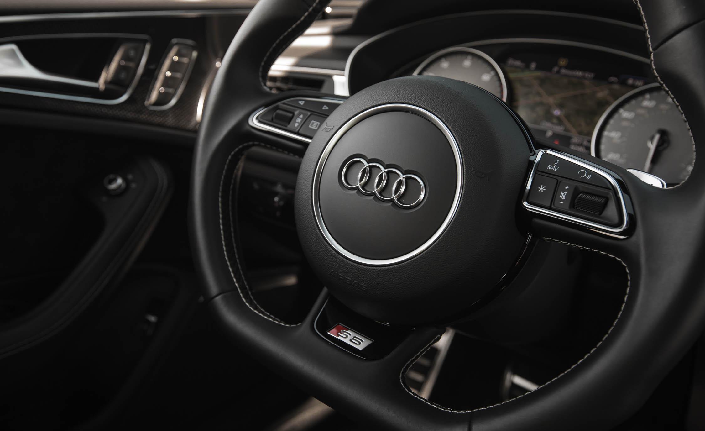 2016 Audi S6 Interior Steering