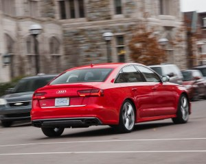2016 Audi S6 Test Rear View