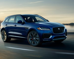 2017 Jaguar F-Pace SUV Side View