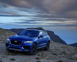2017 Jaguar F-Pace SUV Front View