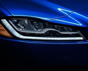 2017 Jaguar F-Pace SUV Headlight View