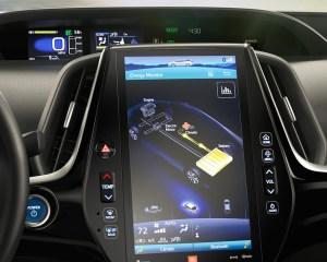 2017 Toyota Prius Prime Dashboard View