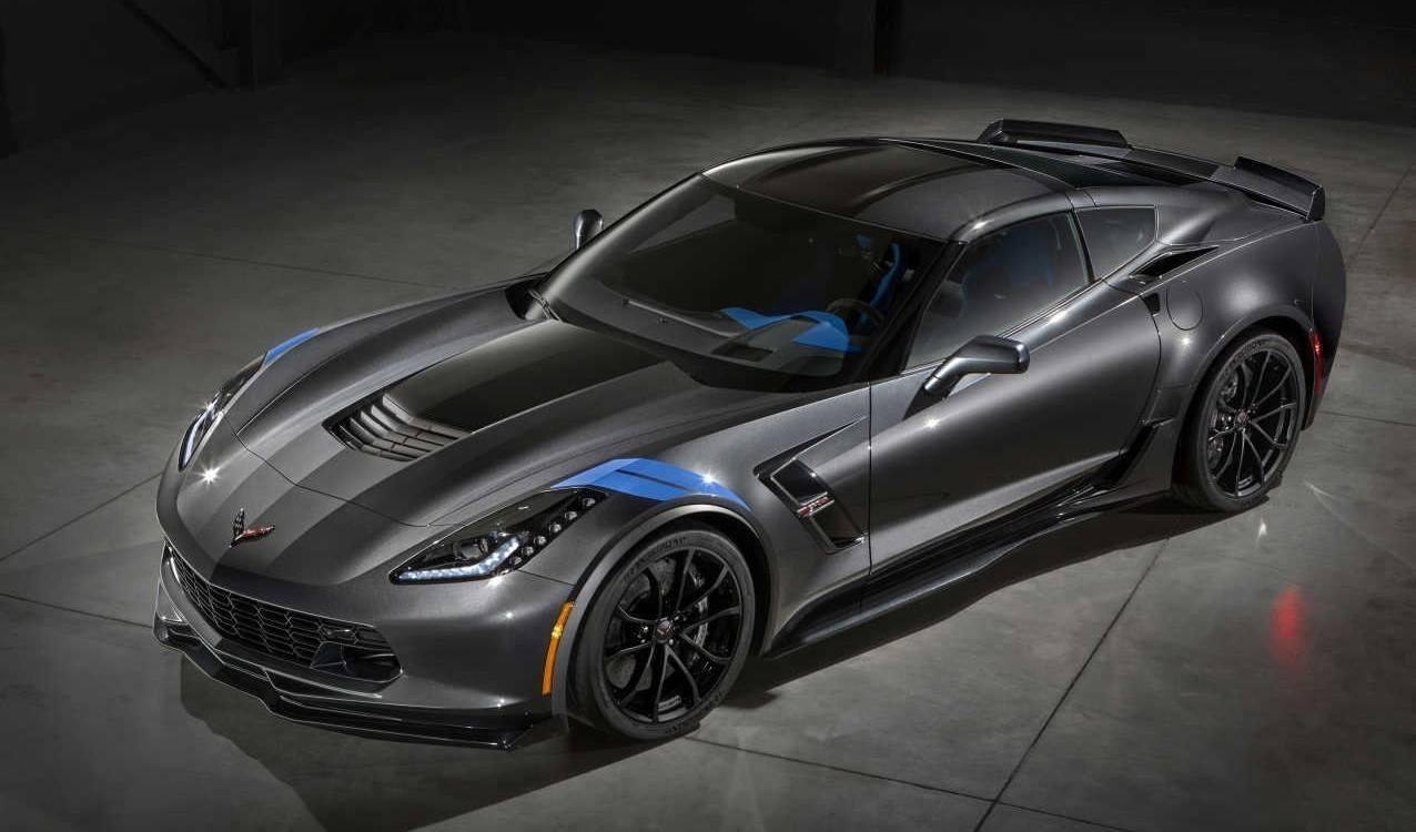2017 Chevrolet Corvette Grand Sport Front Side View