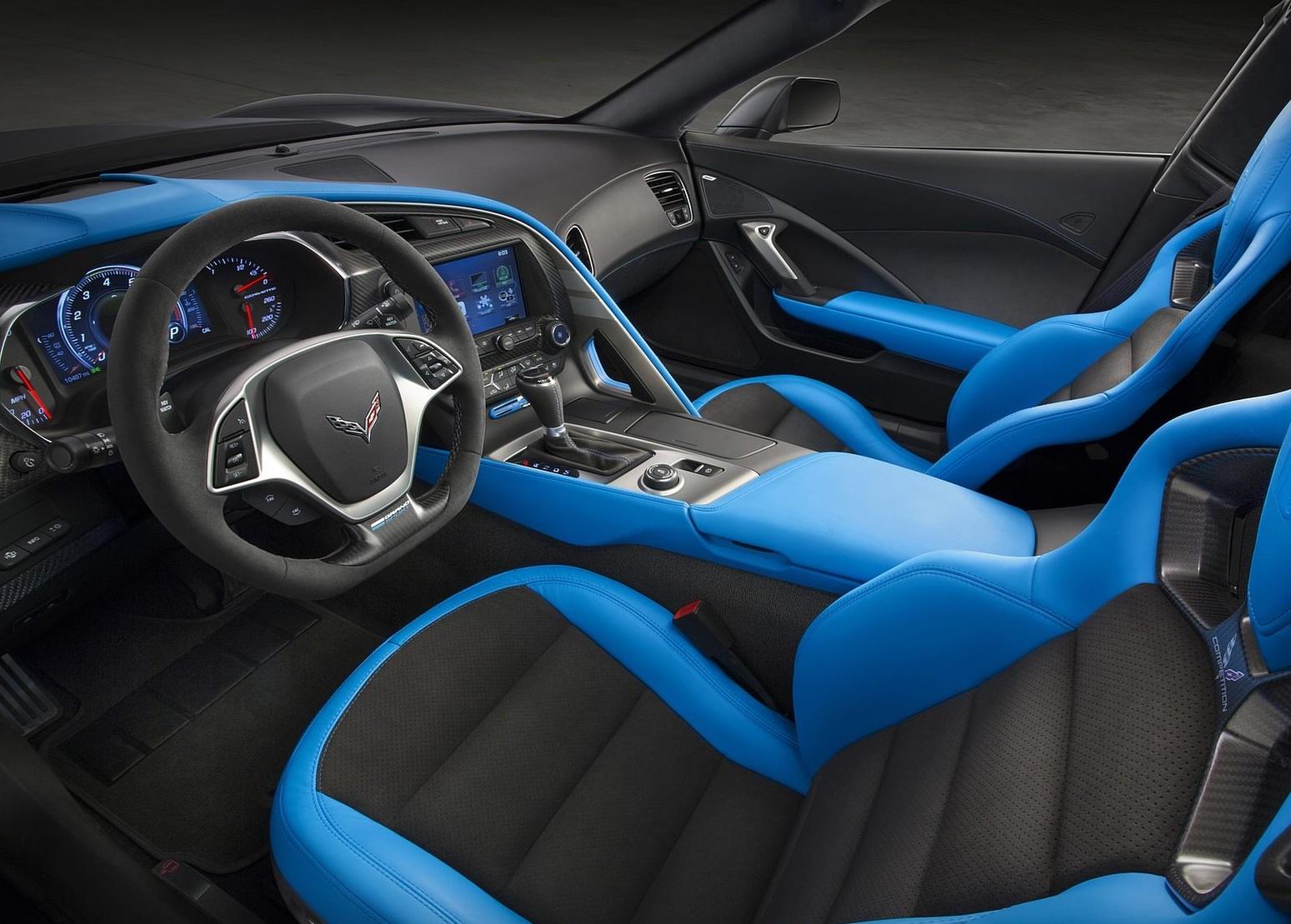 2017 Chevrolet Corvette Grand Sport Interior
