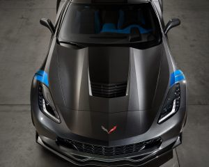2017 Chevrolet Corvette Grand Sport Top View