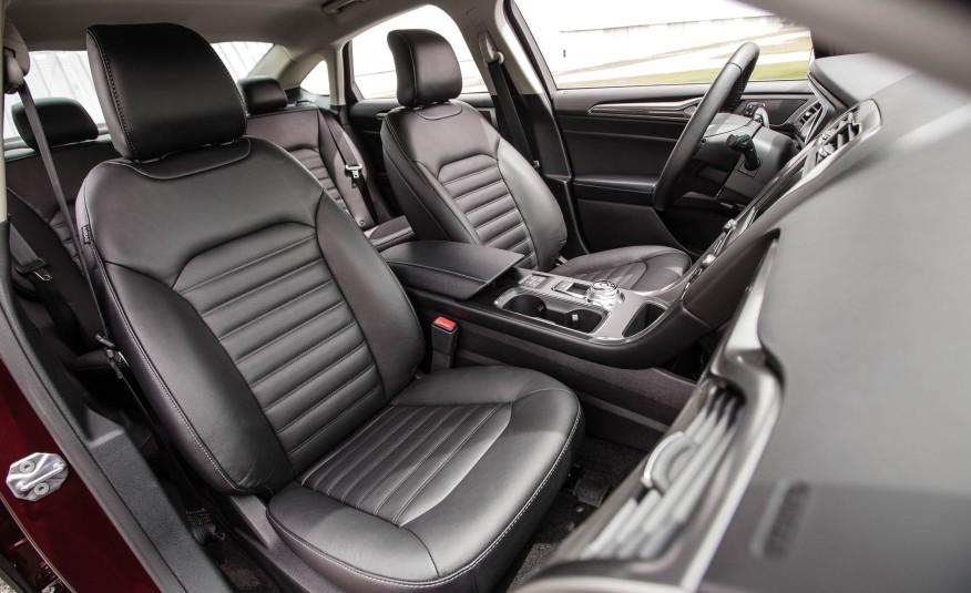 2017 Ford Fusion Hybrid Interior