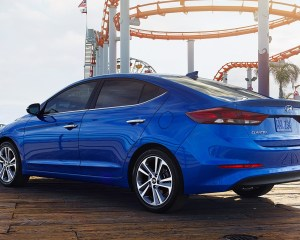 2017 Hyundai Elantra Rear View