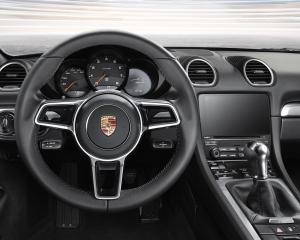 2017 Porsche Boxster 718 Steering View