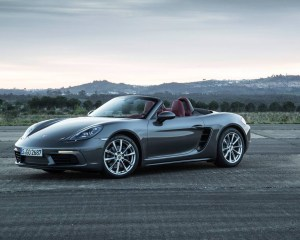 2017 Porsche Boxster 718 Side View