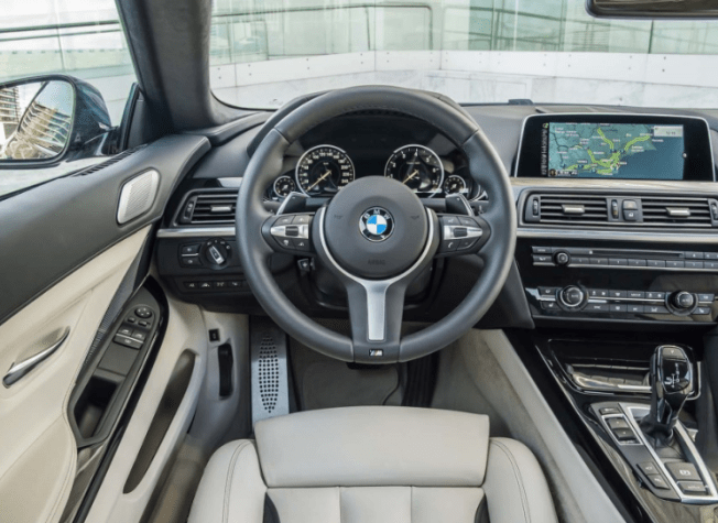 2017 bmw 6 series coupe interior