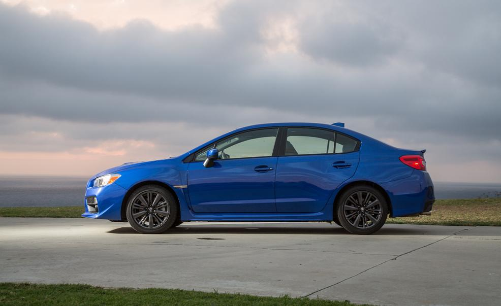2017 Subaru WRX Side View