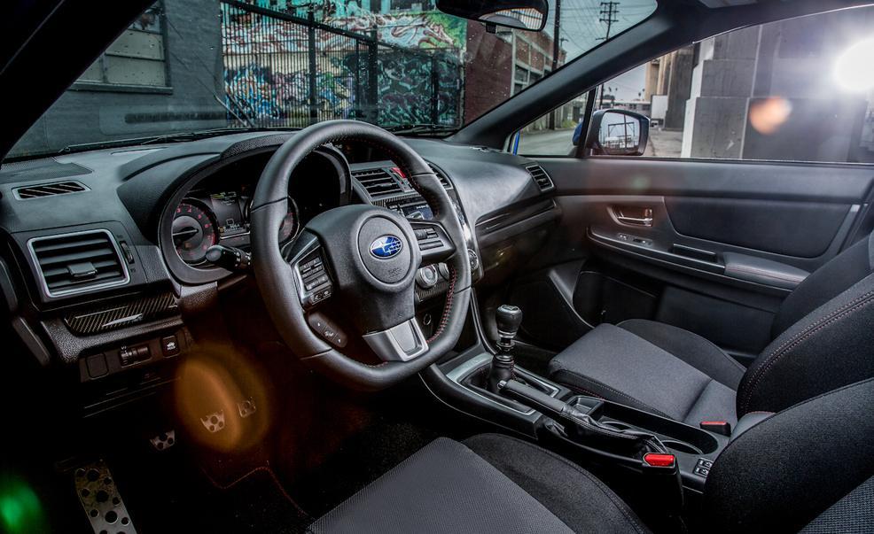 2017 Subaru WRX Steering View