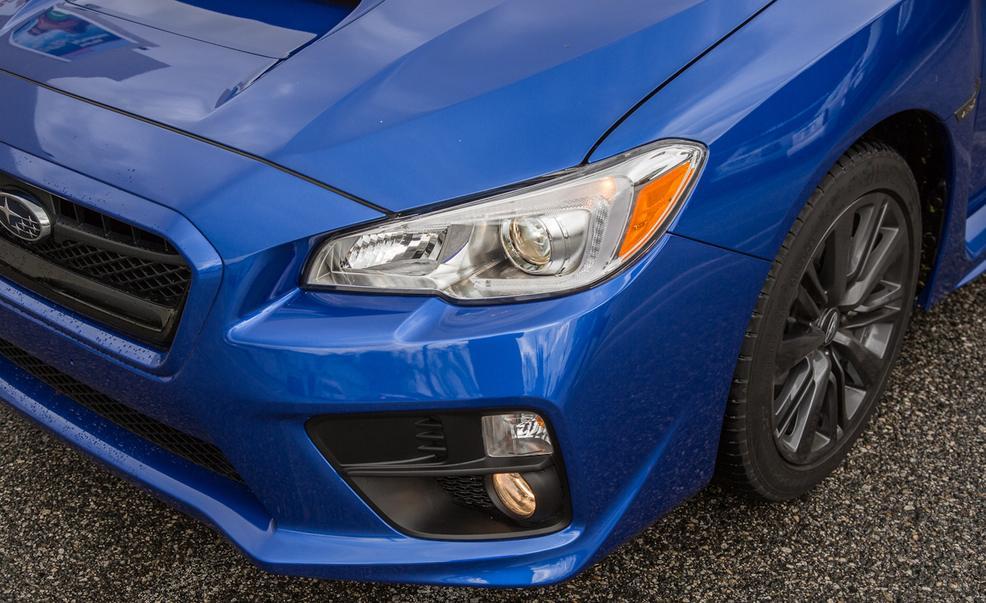 2017 Subaru WRX Headlight View