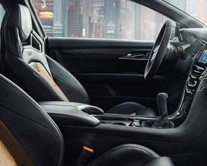 2017 Cadillac ATS-V Interior View