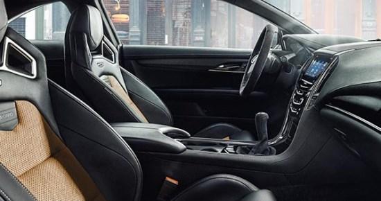 2017 Cadillac ATS-V Interior