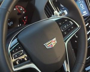 2017 Cadillac ATS-V Steering View