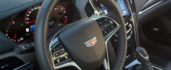 2017 Cadillac ATS-V Steering