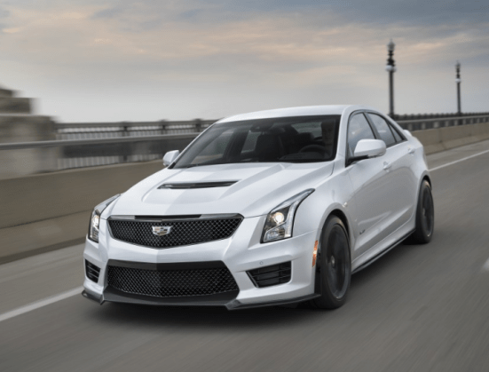 2017 Cadillac ATS-V Front