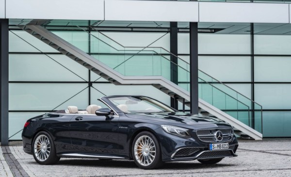 2017 Mercedes AMG S63 Cabriolet