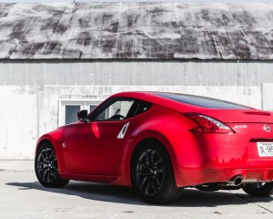 2017 Nissan 370Z Rear View