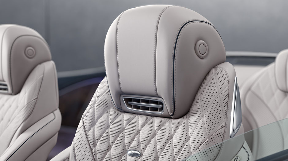 2017 Mercedes AMG S63 Cabriolet Seats View
