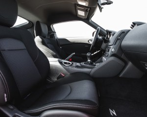 2017 Nissan 370Z Seats View