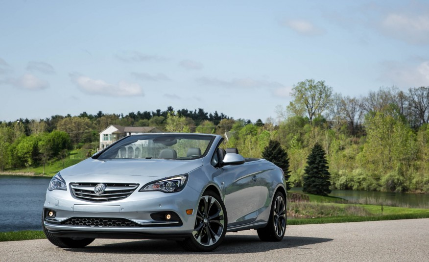 2017 Buick Cascada Front View