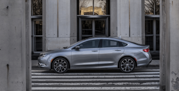 2017 Chrysler 200 Side