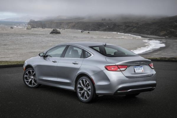 2017 Chrysler 200 back
