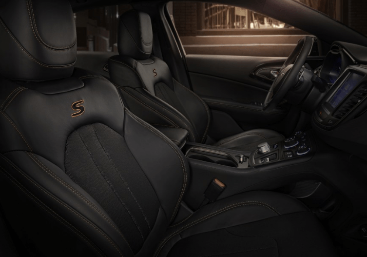 2017 Chrysler 200 Seats Interior View