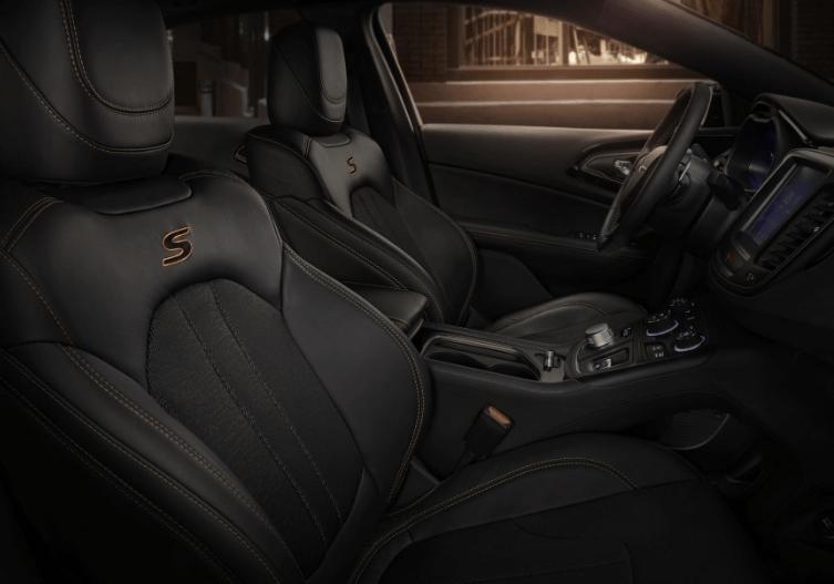 2017 Chrysler 200 Seats Interior View
