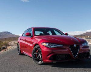2017 Alfa Romeo Giulia Quadrifoglio Front View