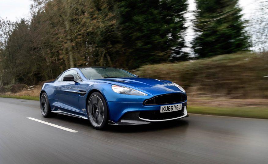 2017 Aston Martin Vanquish S Side View